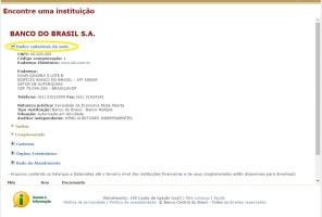 """Nos """"Dados Cadastrais da Sede"""", estão disponíveis CNPJ, endereço, telefone, situação e até os nomes dos auditores independentes (que conferem os balanços das instituições)"""